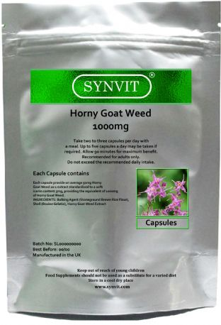 Horny Goat Weed 1000mg Capsules